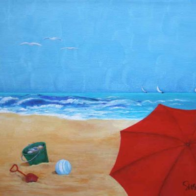 Beach Day by Susan LeBlanc